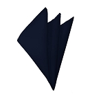 H-53 | Solid Navy Blue Handkerchief