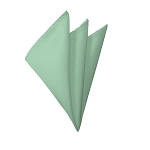H-66 | Solid Light Sage Green Handkerchief