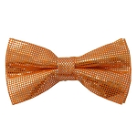 MTB-03 | Metallic Orange Bow Tie