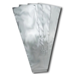 Clear Plastic Tie Sleeves (Pack of 100)