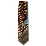 US-03 | Constitution and Flags Novelty Tie