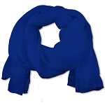 SS-36 | Women's Royal Blue Chiffon Scarf