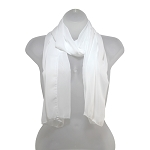 SS-20 | Women's White High Multi Scarf