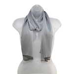 SS-50 | Women's Silver High Multi Scarf