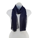 SS-53 | Women's Navy Blue High Multi Scarf