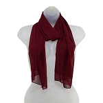 SS-62 | Women's Burgundy High Multi Scarf