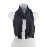 SS-90 | Women's Charcoal Gray High Multi Scarf
