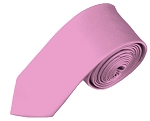 SK-10 | Solid Dusty Pink Skinny Tie For Men