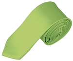 SK-78 | Solid Pear Green Skinny Tie For Men