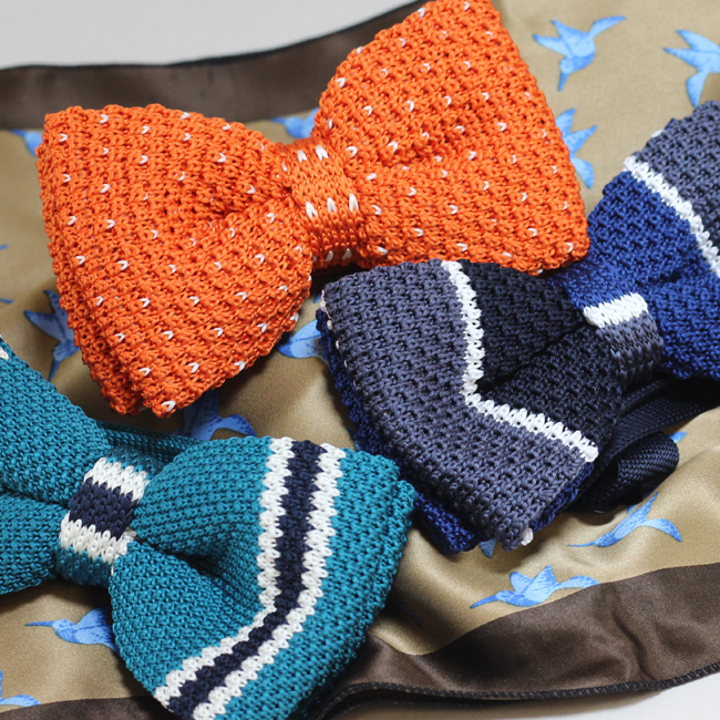 Knit Bow Ties