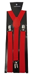 SUS-01 | Solid Red Suspender