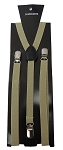SSUS-41 | Slim Solid Dark Beige Suspender