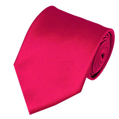 PS-02 | Solid Fuschia Traditional Men's Necktie