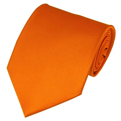 PS-03 | Solid Orange Traditional Men's Necktie