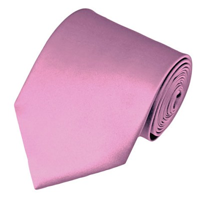 PS-10 | Solid Dusty Pink Traditional Men's Necktie