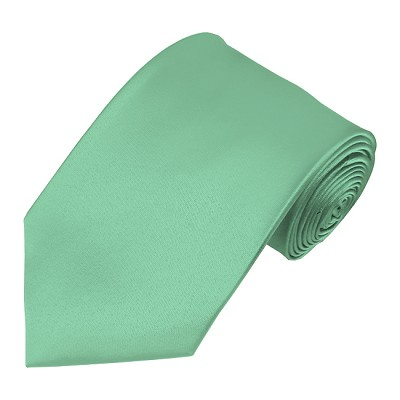 XL-33 | Solid Mint Green Men's X-Long Tie