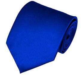 PS-36 | Solid Royal Blue Traditional Men's Necktie