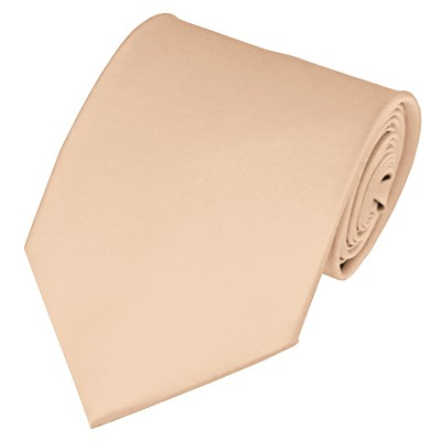 PS-43 | Solid Peach Traditional Men's Necktie