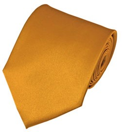 PS-46 | Solid Gold Bar Traditional Men's Necktie