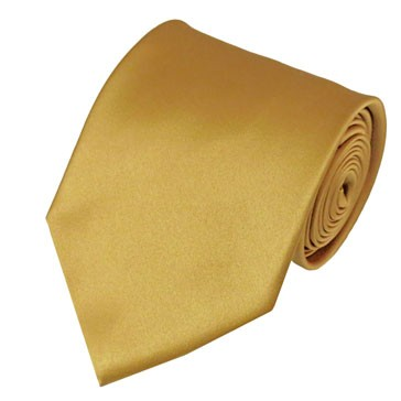PS-75 | Solid Honey Gold Traditional Men's Necktie
