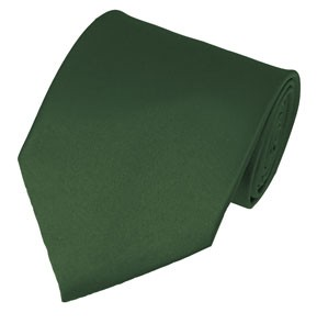 PS-96 | Solid Hunter Green Traditional Men's Necktie