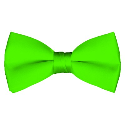 BT-39 | Solid Lime Green Pre-Tied Bow Tie