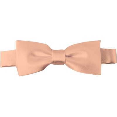 BTK-16 | Kids Solid Light Salmon Pre-Tied Bow Tie
