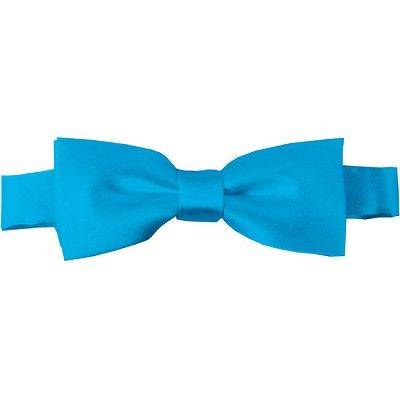 BTK-18 | Kids Solid Turquoise Blue Pre-Tied Bow Tie