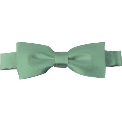 BTK-66 | Kids Solid Light Sage Green Pre-Tied Bow Tie