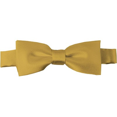 BTK-75 | Kids Solid Honey Gold Pre-Tied Bow Tie