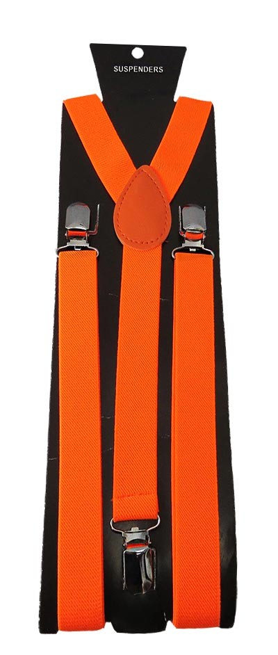 SUS-03 | Solid Orange Suspender