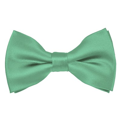 BT-33 | Solid Mint Green Men's Pre-Tied Bow Ties