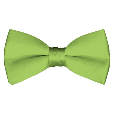 BT-78 | Solid Pear Green Men's Pre-Tied Bow Ties
