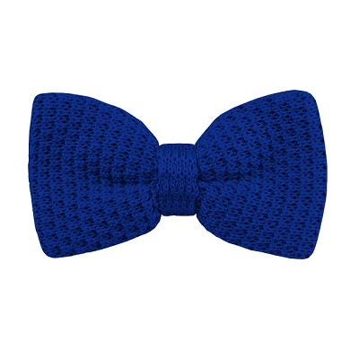 KTB-36 | Men's Solid Royal Blue Pre-Tied Knit Bow Tie