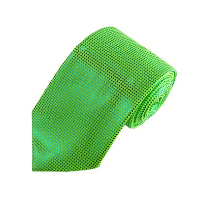 MT-39 | Metallic Lime Green Metallic Tie