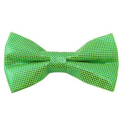 MTB-39 | Metallic Lime Green Bow Tie