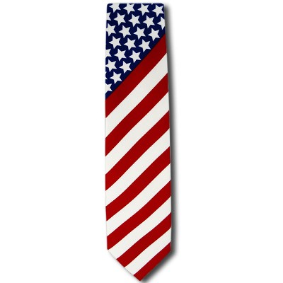 US-01 | Stars and Stripes Novelty Tie