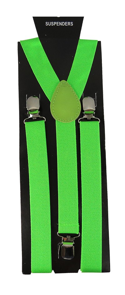 SUS-39 | Solid Lime Green Suspender