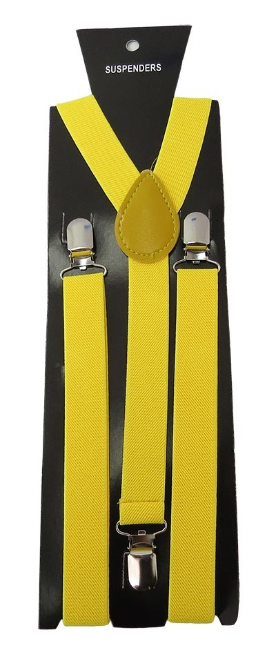 SUS-48 | Solid Golden Yellow Suspender