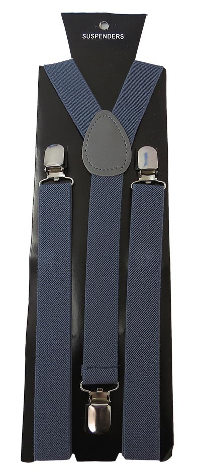 SUS-90 | Solid Charcoal Gray Suspender